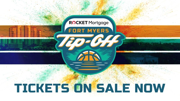 Full-Tournament Tickets for 2019 Rocket Mortgage Fort Myers Tip-Off On Sale Wednesday