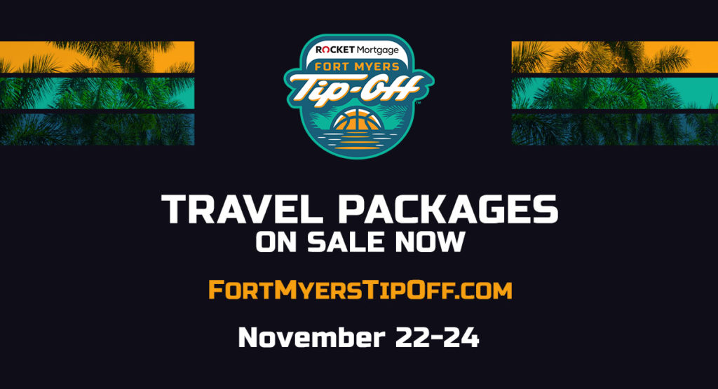 Travel Packages on Sale Now for Rocket Mortgage Fort Myers Tip-Off